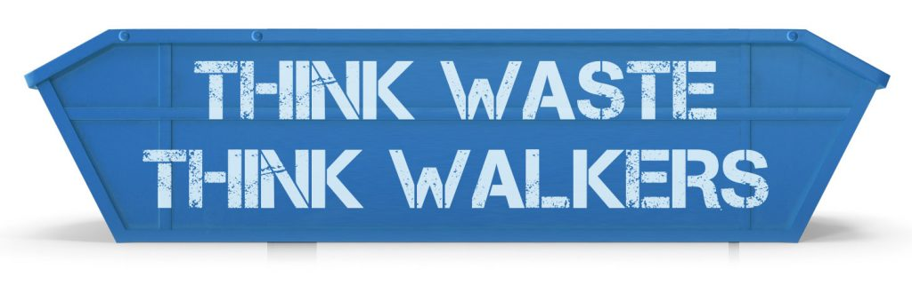 THINK WASTE THINK WALKERS
