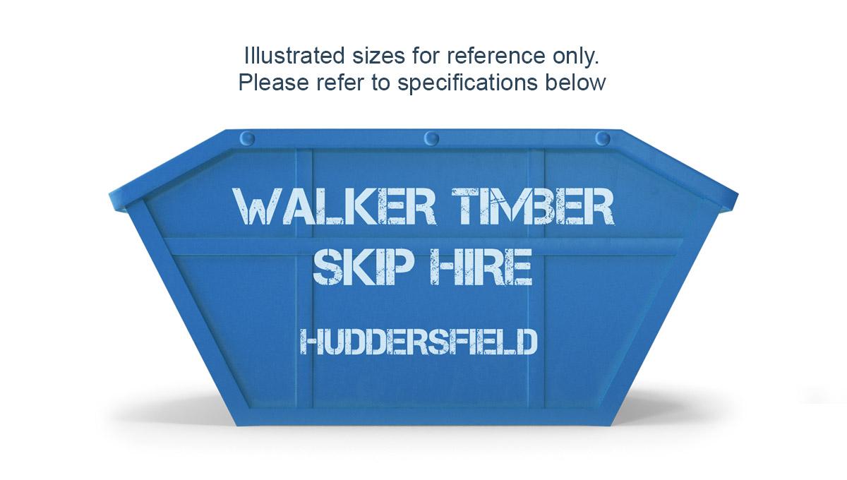mini skip hire in huddersfield