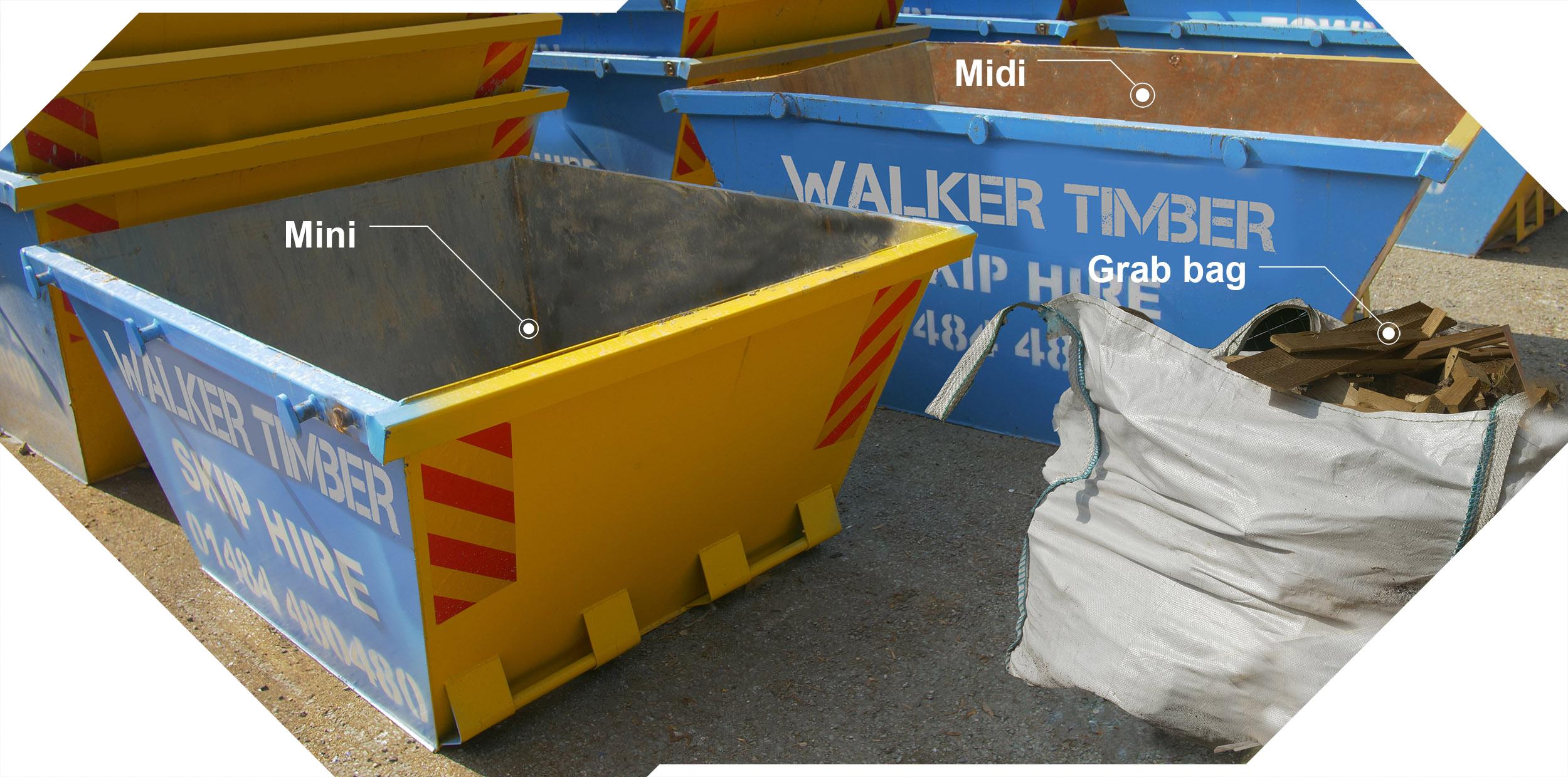 walker timber skip hire